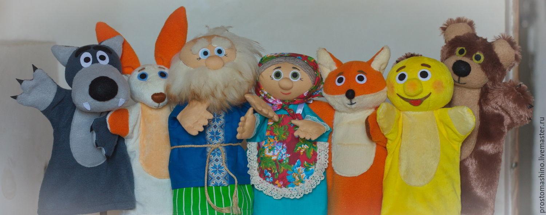 куклы видео своими театр кукольный руками