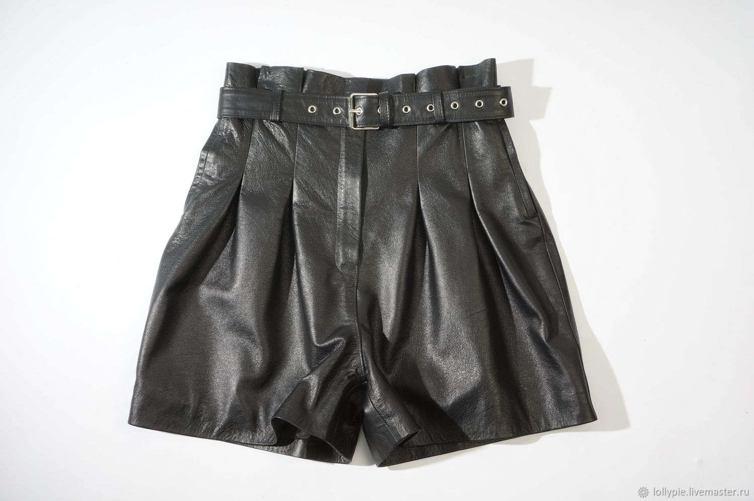 The shorts are genuine leather, Shorts, Moscow,  Фото №1