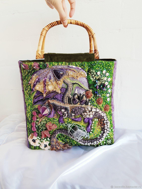 Tote bag: a bag with a fantasy dragon, Tote Bag, Kursk,  Фото №1