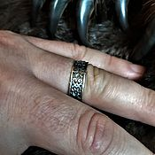 Русский стиль handmade. Livemaster - original item The stone - amulet ring. Handmade.