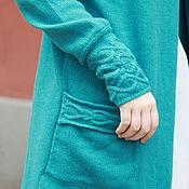 Одежда ручной работы. Ярмарка Мастеров - ручная работа Кардиган из кашемира с мериносом. Handmade.