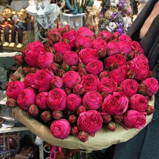 """Букеты ручной работы. Ярмарка Мастеров - ручная работа. Купить Букет цветов из роз """"Пиано пинк"""". Handmade. Букет цветов"""