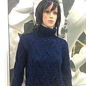 Одежда ручной работы. Ярмарка Мастеров - ручная работа Свитер вязаный косами. Handmade.
