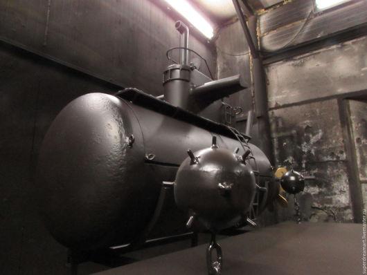 """Кухня ручной работы. Ярмарка Мастеров - ручная работа. Купить Мангал""""Подводная лодка"""".. Handmade. Черный"""