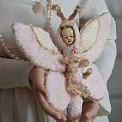 Куклы и игрушки ручной работы. Ярмарка Мастеров - ручная работа БЕТИ - бабочка в стиле Shabby chic. Handmade.