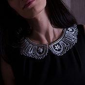 handmade. Livemaster - original item Handmade white lace collar. Handmade.