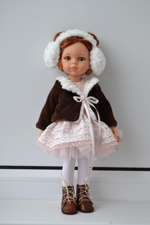 5cbabf8463c1 Купить Кукла Кристи с буклями · Ароматизированные куклы ручной работы. Кукла  Кристи с буклями от Paola Reina в наряде ручной работы