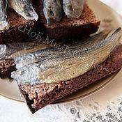 """Косметика ручной работы. Ярмарка Мастеров - ручная работа Мыло для рук """"Бутерброд с рыбкой"""". Handmade."""