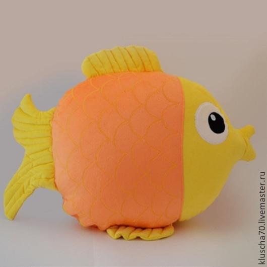 Детская ручной работы. Ярмарка Мастеров - ручная работа. Купить подушка игрушка. Handmade. Желтый, подушка игрушка, интерьер детской