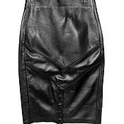 Skirts handmade. Livemaster - original item Leather Skirt SONG. Handmade.
