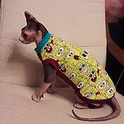 handmade. Livemaster - original item Cat clothes