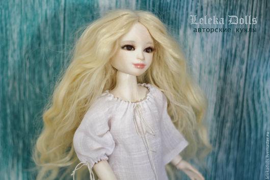 Коллекционные куклы ручной работы. Ярмарка Мастеров - ручная работа. Купить Шарнирная кукла Золушка. Handmade. Коричневый, шарнирная кукла