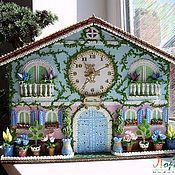 """Для дома и интерьера ручной работы. Ярмарка Мастеров - ручная работа Настенные часы """"Счастливое время"""". Handmade."""