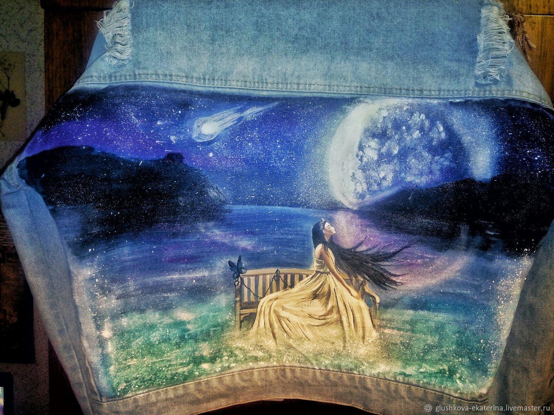 Роспись джинсовок, футболок, сумок и другое, Услуги, Новосибирск,  Фото №1