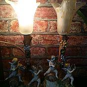 Винтаж ручной работы. Ярмарка Мастеров - ручная работа Лампы пара Италия. Handmade.