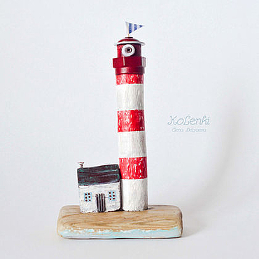 Для дома и интерьера ручной работы. Ярмарка Мастеров - ручная работа Маяк driftwood. Handmade.