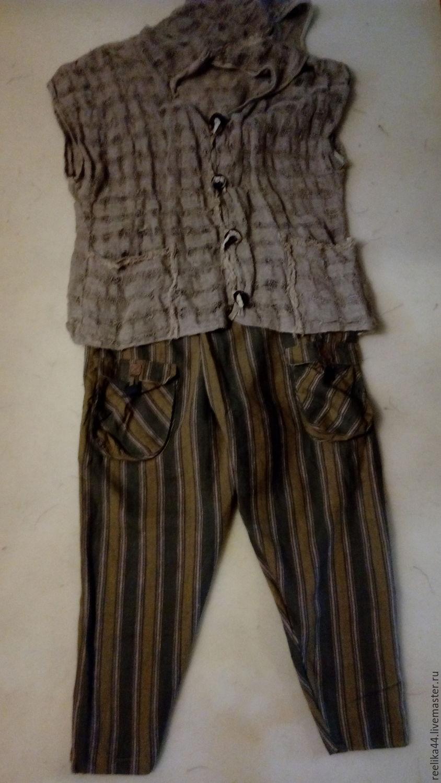 Boho pants with stripes, Pants, Stupino,  Фото №1