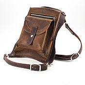 Сумки и аксессуары handmade. Livemaster - original item Bag leather hip Mod.SN_001. Handmade.