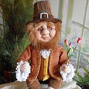 Куклы и игрушки ручной работы. Ярмарка Мастеров - ручная работа Гном Голландец  (текстильная кукла). Handmade.