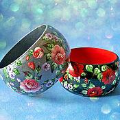 Украшения ручной работы. Ярмарка Мастеров - ручная работа Браслеты с розами. Handmade.