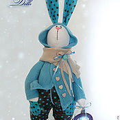 Куклы и игрушки handmade. Livemaster - original item Interior Textile Toy. Dolls-Honey Winter. Handmade.