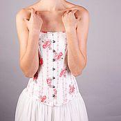 Одежда ручной работы. Ярмарка Мастеров - ручная работа Корсет из витнажного хлопка 1980 года. Handmade.