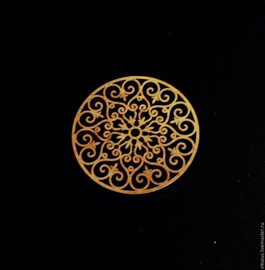 Арт.68702 Накладной элемент №1 `Круглый Ажур`