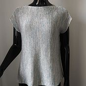 Одежда handmade. Livemaster - original item knitted top. Handmade.
