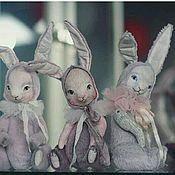Куклы и игрушки ручной работы. Ярмарка Мастеров - ручная работа Сладкие зайки.. Handmade.