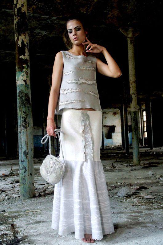 Платья ручной работы. Ярмарка Мастеров - ручная работа. Купить Леди. Handmade. Коктейльное платье, ручная авторская работа, felting