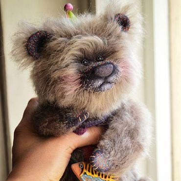 Куклы и игрушки ручной работы. Ярмарка Мастеров - ручная работа Скитлс... Коллекционный мишка тедди. Handmade.