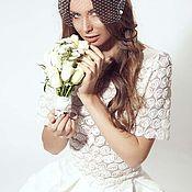 Свадебный салон ручной работы. Ярмарка Мастеров - ручная работа Распродажа 50%!Свадебный гипюровый костюмчик. Handmade.