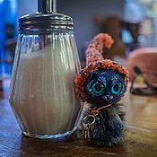 Куклы и игрушки ручной работы. Ярмарка Мастеров - ручная работа Кот-топтун: Мухоморкин. Handmade.