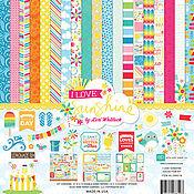 """В наличии! Набор бумаги """"I Love Sunshine Collection Kit""""  от Echo park"""