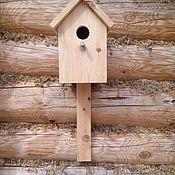 Для дома и интерьера ручной работы. Ярмарка Мастеров - ручная работа Скворечник для птиц. Handmade.