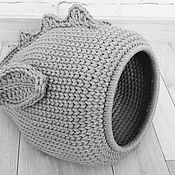 Лежанки ручной работы. Ярмарка Мастеров - ручная работа Лежанки: Чудо Юдо для кошек. Handmade.