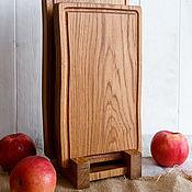 Посуда handmade. Livemaster - original item Set of oak boards. Handmade.