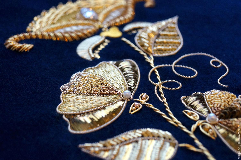 Турецкая вышивка золотом