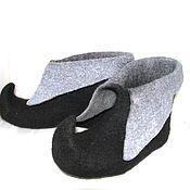 Обувь ручной работы. Ярмарка Мастеров - ручная работа детские тапочки Средневековье. Handmade.