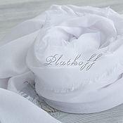 Аксессуары handmade. Livemaster - original item Basic white Italian stole