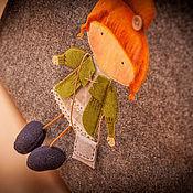 Сумки и аксессуары ручной работы. Ярмарка Мастеров - ручная работа Сумка войлочная Девочка в стиле бохо. Handmade.