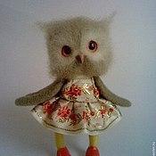 Куклы и игрушки ручной работы. Ярмарка Мастеров - ручная работа Сова Глафира. Handmade.