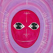 Картины ручной работы. Ярмарка Мастеров - ручная работа Картины: Арктурианец Шестиглазый. Handmade.