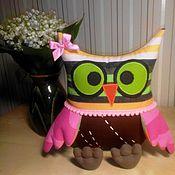 Куклы и игрушки ручной работы. Ярмарка Мастеров - ручная работа Сова. Просто Сова.. Handmade.