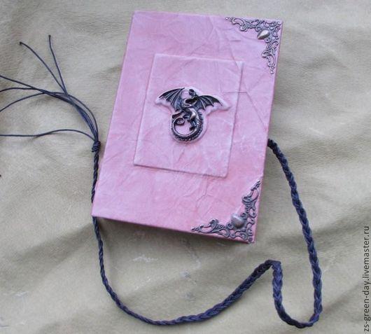 Блокноты ручной работы. Ярмарка Мастеров - ручная работа. Купить Резерв Драконы. Handmade. Бежевый, металлическая фурнитура