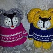 Куклы и игрушки ручной работы. Ярмарка Мастеров - ручная работа Собачки Тоби и Лори. Handmade.