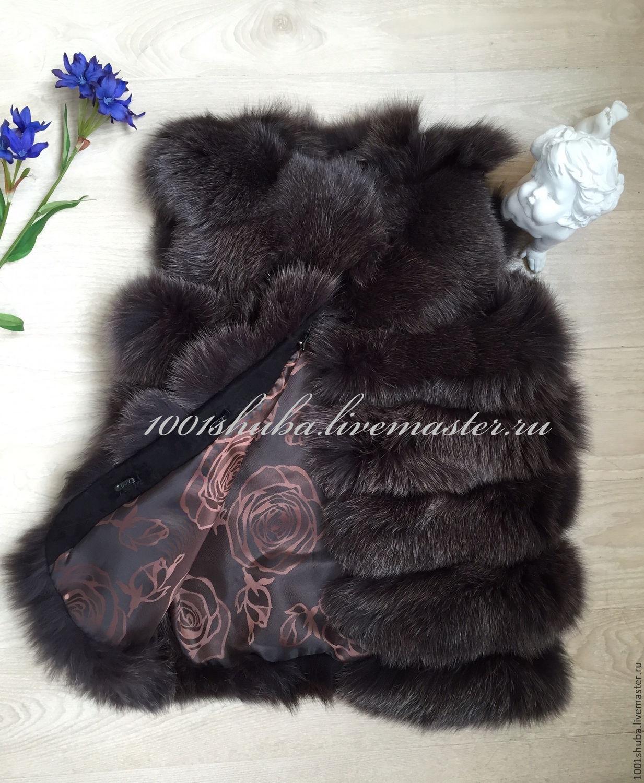 Шьем из старой шубы Меховая жилетка своими руками
