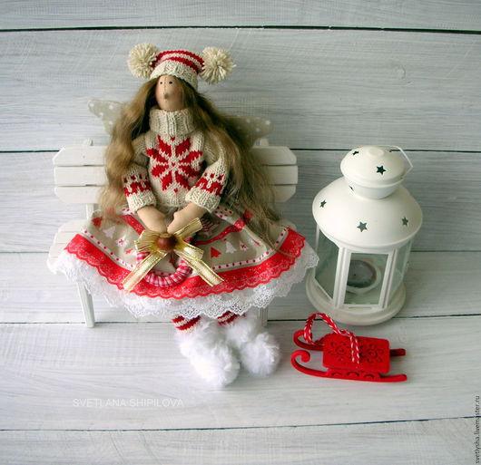 Куклы Тильды ручной работы. Ярмарка Мастеров - ручная работа. Купить Скандинавская феечка Тильда ангел текстильная кукла. Handmade.