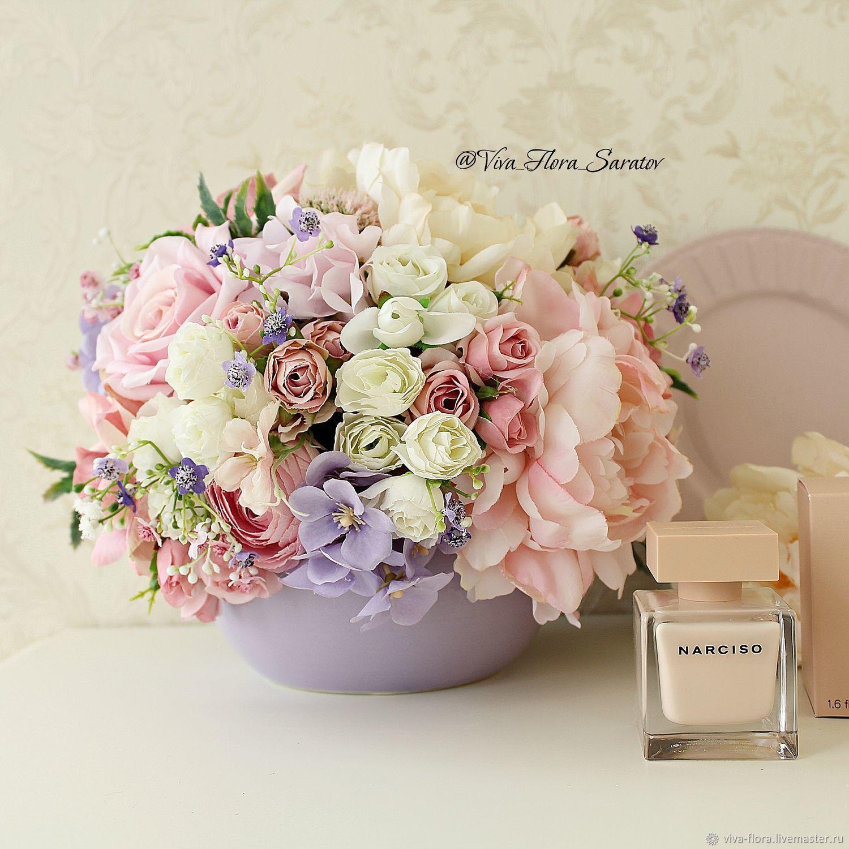 """Букет цветов в вазе """"Аметист"""", Букеты, Энгельс,  Фото №1"""