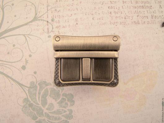 Другие виды рукоделия ручной работы. Ярмарка Мастеров - ручная работа. Купить Замок для сумки 4351 антик. Handmade. Фурнитура